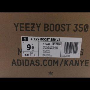 "adidas Shoes - Adidas Yeezy Boost 350 v2 ""Black"" REFLECTIVES"